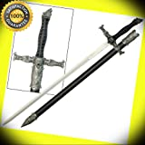 Spirit of the Alpha Wolf Medieval Stainless Steel Knights Sword Costume Replica perfect for cosplay outdoor camping