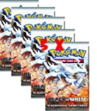 Pokemon cards 5 X black and white booster packs PRE SALE APRIL RELEASE DATE