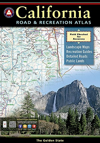 Benchmark California Road & Recreation Atlas