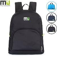 MIU COLOR 25L Lightweight Waterproof Backpack (Black)