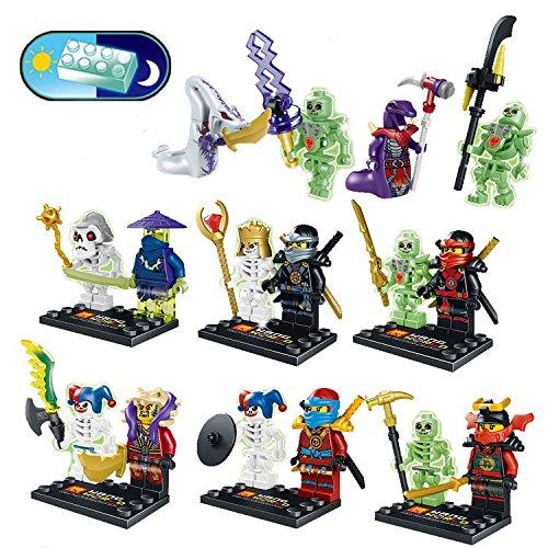 ThePhantomLight&Night(MiniBlockHeroes With Sword) Educational Toys Minifigure DIY Building Blocks (Marvel Classic Hulk Costume Kit)