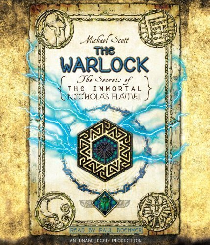 The Warlock: The Secrets of the Immortal Nicholas Flamel by Scott, Michael (2011) Audio CD