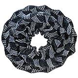 Luxury Divas Two-Tone Knit Circle Scarf