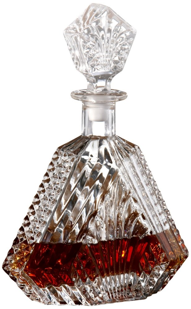 Amazon.com | Fifth Avenue Crystal Wellington Whiskey Decanter ...