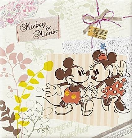 Disney Series increase albums screw L Size100 anniversary mount Mickey Minnie