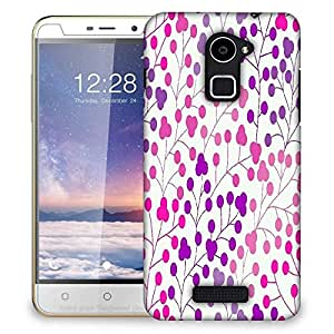 Snoogg seamless pattern with leaf copy that square to the side and youll get seaml Designer Protective Back Case Cover For Coolpad Note 3 Lite