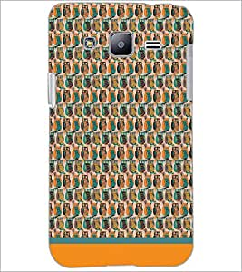 PrintDhaba Owl Pattern D-1681 Back Case Cover for SAMSUNG GALAXY J2 (Multi-Coloured)