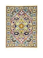Eden Alfombra Ardebil  Rojo/Multicolor 72 x 95 cm