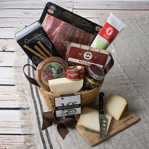 Appetite for Antipasto Gift Basket - FREE SHIPPING