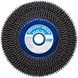 Norton Bear-Tex Non-Woven Wire Wheel Brush, Round Shank, Silicon Carbide, Full Twist Knotted