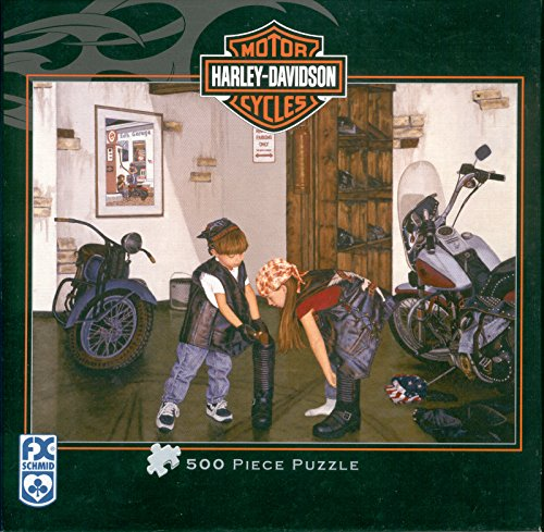 Harley Davidson Getting in Gear Jigsaw Puzzle