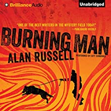 Burning Man Audiobook by Alan Russell Narrated by Jeff Cummings