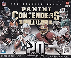 Buy 1 (One) Box - 2012 Panini Contenders Football Hobby Box (18 Packs per Box) - Possible Russell... by Panini Contenders
