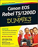 img - for Canon EOS Rebel T5/1200D For Dummies book / textbook / text book