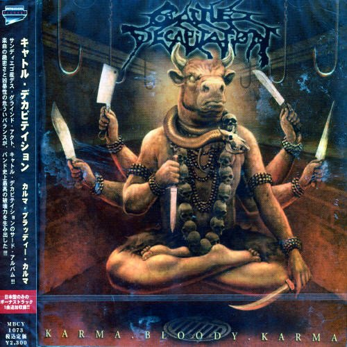 CD : Cattle Decapitation - Karma.Bloody.Karma (Bonus Track, Japan - Import)