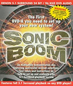 Sonic Boom (DVD Audio)