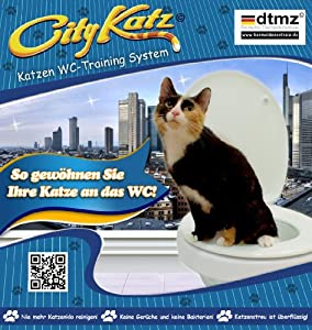 citykatz katzen wc sitz training system katzenklo ohne. Black Bedroom Furniture Sets. Home Design Ideas