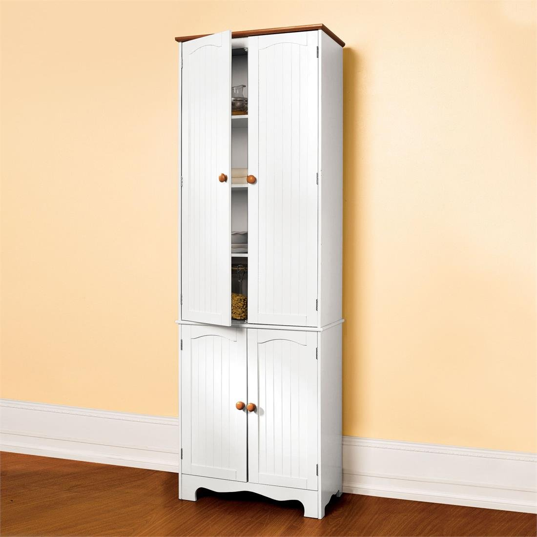 Pantry cabinet door pantry cabinet with tall narrow door for Amazon kitchen cabinets