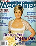 Courtney Thorne-Smith Cover In Style Weddings Magazine Spring 2001 - Toni Braxton