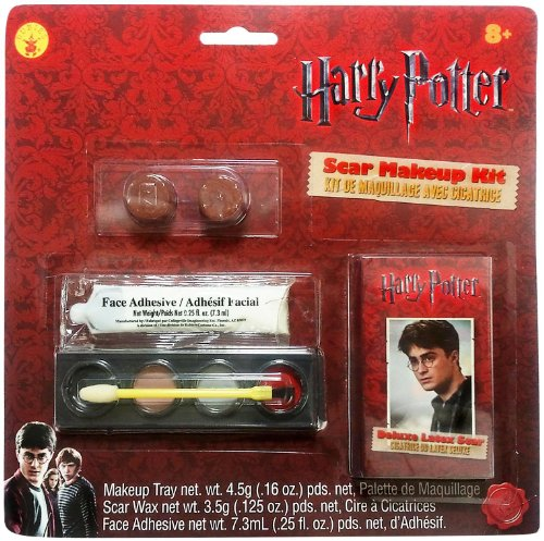 Rubies Costume Company Mens Harry Potter Scar & Makeup Kit