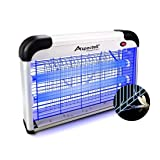 Aspectek Upgraded 20W Electronic Bug Zapper, Insect Killer - Mosquito, Fly, Moth, Wasp, Beetle & Other pests Killer for Indoor Residential & Commercial (20W Home Bug Zapper) (Color: 20W Home Bug Zapper)
