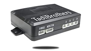Tadibrothers Parking Front and Backup Sensor System with Sound and Volume Control (TB-S8058S) (Tamaño: Front & Back with Speaker)