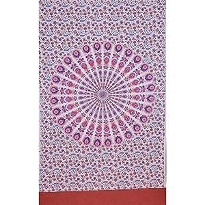 Craft N Craft India Indian Elephant Batik Tapestry Wall Hanging Ethnic India Home Decor Vintage