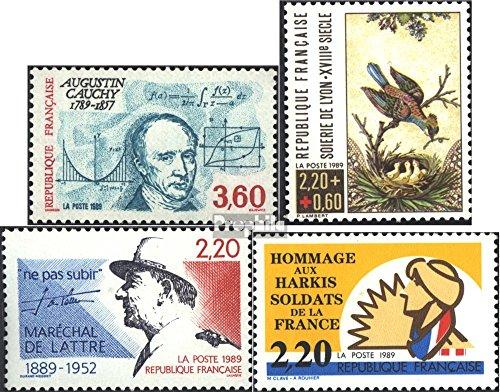 Frankreich 2747,2748,2749,2750 (kompl.Ausg.) gestempelt 1989 Sondermarken (Briefmarken für Sammler)