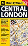 Street Atlas Central London Map (AA Street by Street)
