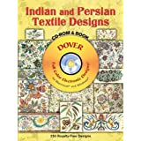 Indian and Persian Textile Designs CD-ROM and Book