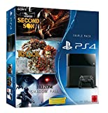 PlayStation 4 - Konsole inkl. Killzone: Shadow Fall, Knack und inFamous Second Son