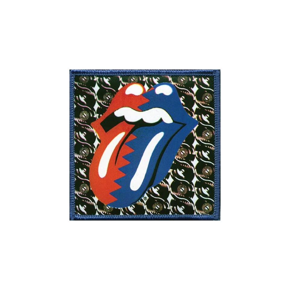 Rolling Stones   Steel Wheels Patch Clothing
