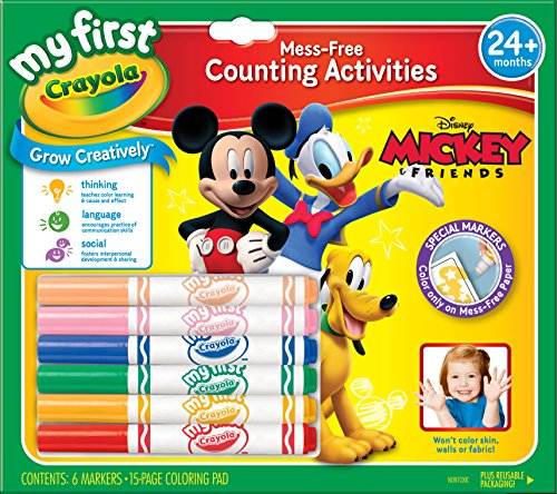 Crayola My First Mickey Markers and Paper - 1