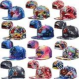 Unisex Adjustable Hip Hop Sport Support Hats Snapback Baseball Caps Star Style