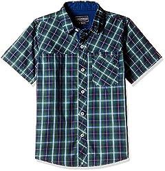 Cherokee Boys' Shirt (267983755_Green_11 - 12 years)
