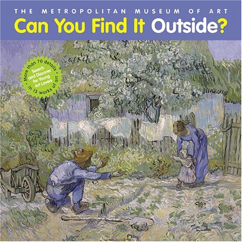 Can You Find It Outside?: Search and Discover for Young Art Lovers (Can You Find It Inside compare prices)