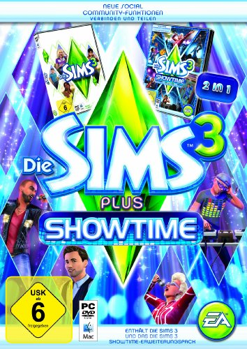 Die Sims 3 + Showtime (Add-On) (PC+MAC)