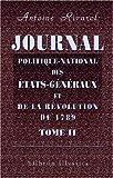 echange, troc Antoine Rivarol - Journal politique-national des États-Généraux, et de la révolution de 1789: Publié d'abord par M. l'abbé Sabatier, & main
