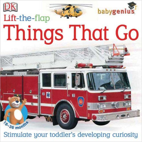 Lift-The-Flap: Things That Go (Baby Genius) front-494163