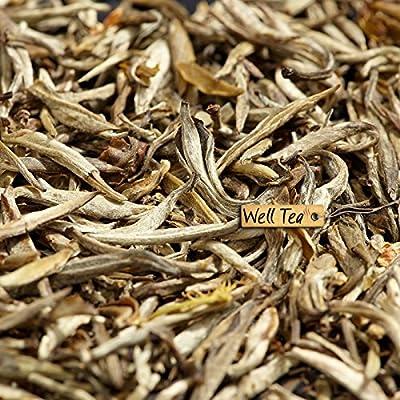 Welltea Jasmin Silbernadel Weißtee - 200g von WellTea auf Gewürze Shop