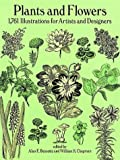 Plants and Flowers: 1,761 Illustrations for Artists and Designers