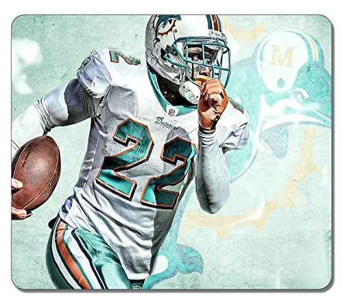 Art Mouse Pads Nfl Miami Dolphins Reggie Bush 329 Customized High Quality Eco Friendly Neoprene Rubber Mouse Pad Desktop Mousepad Laptop Mousepads Comfortable Computer Mouse Mat Cute Gaming Mouse pad (Reggie Bush Miami Dolphins compare prices)