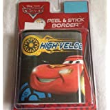 Roommates Cars 3D Border With Viewer Peek And Stick Wall Decals, Multi Color