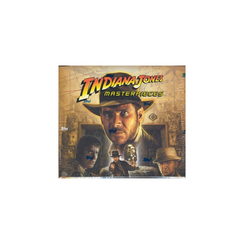 2008 Topps Indiana Jones Masterpieces Trading Cards HOBBY Box