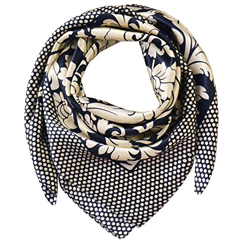 TONY-AND-CANDICE-Womens-Square-Scarf-100-Polyester-Silk-Feeling-3333-Inch-Color-12