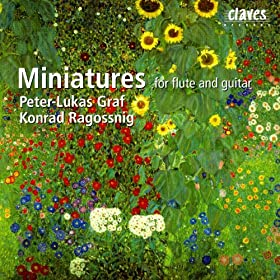 Miniatures For Flute & Guitar
