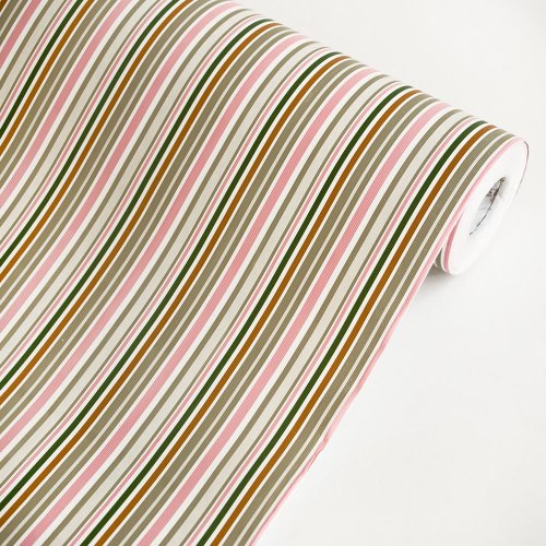 Colorful Stripe - Self-Adhesive Wallpaper Home Decor(Roll) front-723253