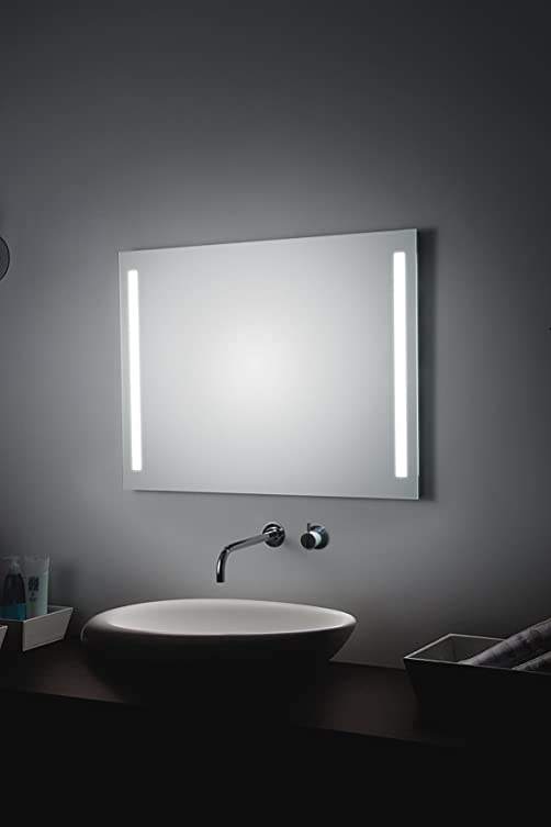 Koh-I-Noor L45725 Specchio Illuminazione Laterale LED 80 X, Cromo