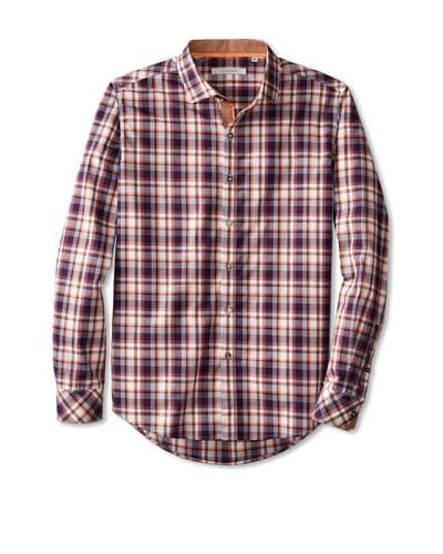 7 Diamonds Men's Sun Is Shinning Checked Long Sleeve Shirt