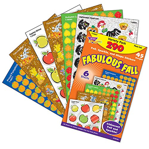 Fabulous Fall Mixed Stickers Variety Pack - 1